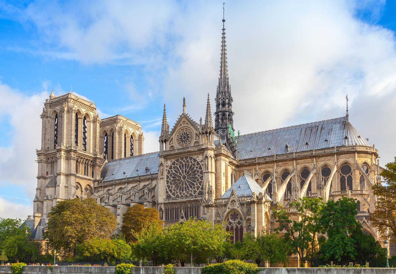 Notre Dame Paris Westansicht